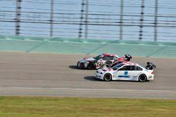 #8 MP2B BMW E46, Michael Camus , Randy Mueller, Epic Motorsports, #121 MP3B Scion FR-S, Bryan Horowi
