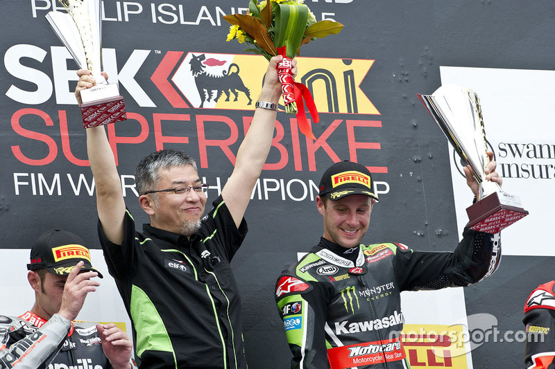 Jonathan Rea, Kawasaki Racing, ganador Phillip Island, 2015