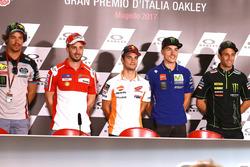 Franco Morbidelli, Marc VDS Andrea Dovizioso, Ducati Team, Dani Pedrosa, Repsol Honda Team, Maverick