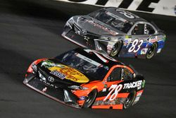 Martin Truex Jr., Furniture Row Racing Toyota, Corey LaJoie, BK Racing Toyota