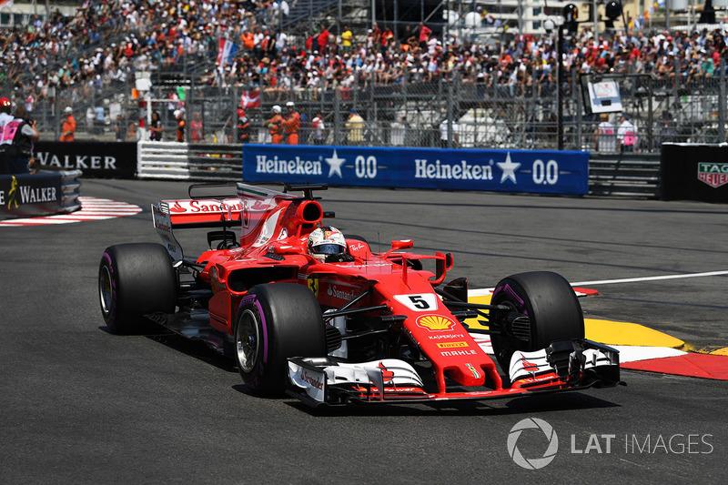 1 місце — Себастьян Феттель, Ferrari. Умовний бал — 83,333