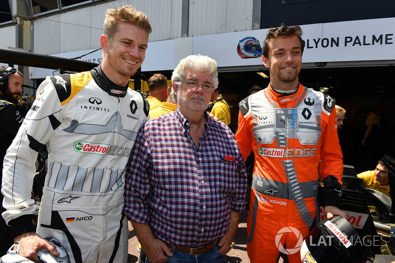 Джордж Лукас, Ніко Хюлькенберг, Джоліон Палмер, Renault Sport F1 Team