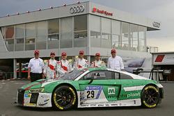 Победители: №29 Audi Sport Team Land-Motorsport, Audi R8 LMS: Кристофер Мис, Коннор де Филиппи, Марк