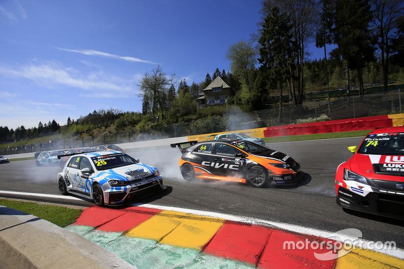 Kaza, Edouard Mondron, Delahaye Racing, Volkswagen Golf GTI TCR, Tom Coronel, Boutsen Ginion Racing,