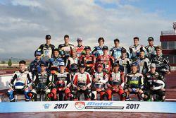 Grup foto pembalap Moto2 European Championship