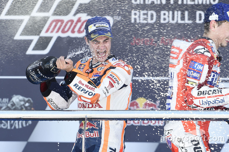 Dani Pedrosa will receive a tribute in Jerez, where he reached his penultimate victory, the year 2017