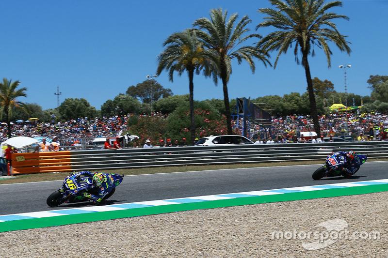 Valentino Rossi et Maverick Viñales, Yamaha Factory Racing