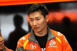 #8 Autobacs Racing Team Aguri Honda NSX Concept GT: Takashi Kobayashi