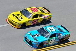 Daniel Suarez, Joe Gibbs Racing, Toyota; Martin Roy, Chevrolet