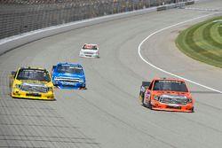 Grant Enfinger, ThorSport Racing Toyota, Cody Coughlin, ThorSport Racing Toyota, Stewart Friesen, El
