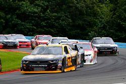 Brendan Gaughan, Richard Childress Racing Chevrolet, Timmy Hill, Carl Long Motorsport Chevrolet