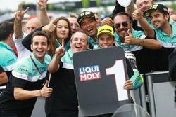 Il vincitore della gara Joan Mir, Leopard Racing