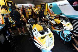 Atmósfera de garaje RBA BOE racing team