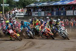 Tony Cairoli, Red Bull KTM Factory Racing, Jeffrey Herlings, Red Bull KTM Factory Racing y Max Ansti