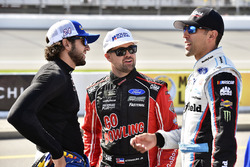 Aric Almirola, Richard Petty Motorsports Ford, Ricky Stenhouse Jr., Roush Fenway Racing Ford, Chase