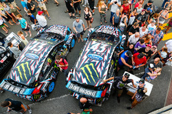 Ken Block, Andreas Bakkerud, Hoonigan Racing Division Ford