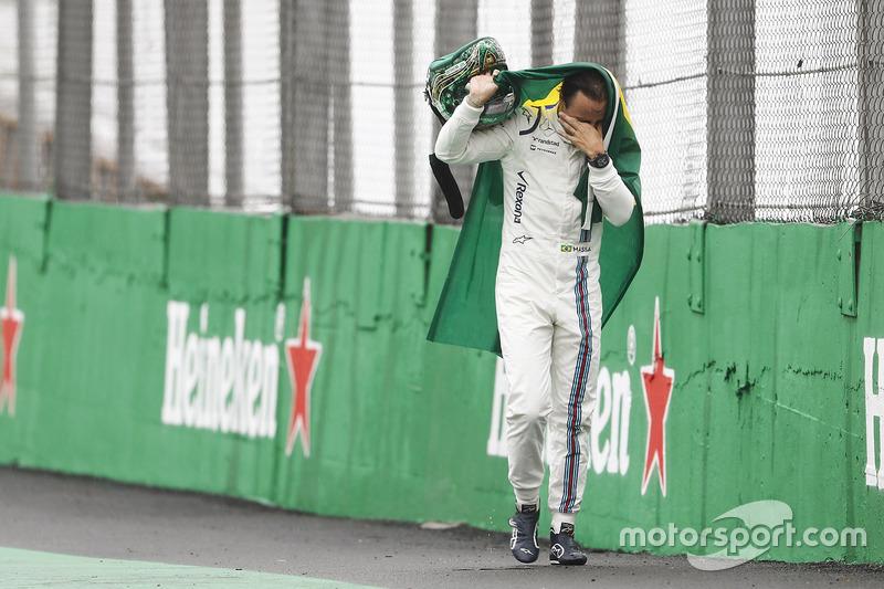 Ausfall: Felipe Massa, Williams FW38