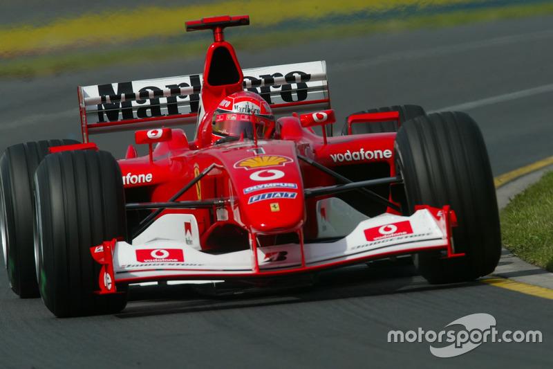 2003. Ferrari F2002