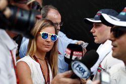 Valtteri Bottas, Williams, et Felipe Massa, Williams, en interview