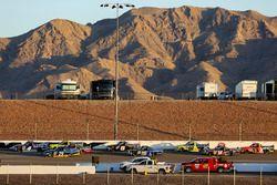 Christopher Bell, Kyle Busch Motorsports Toyota, Chase Briscoe, Brad Keselowski Racing Ford, Matt Cr
