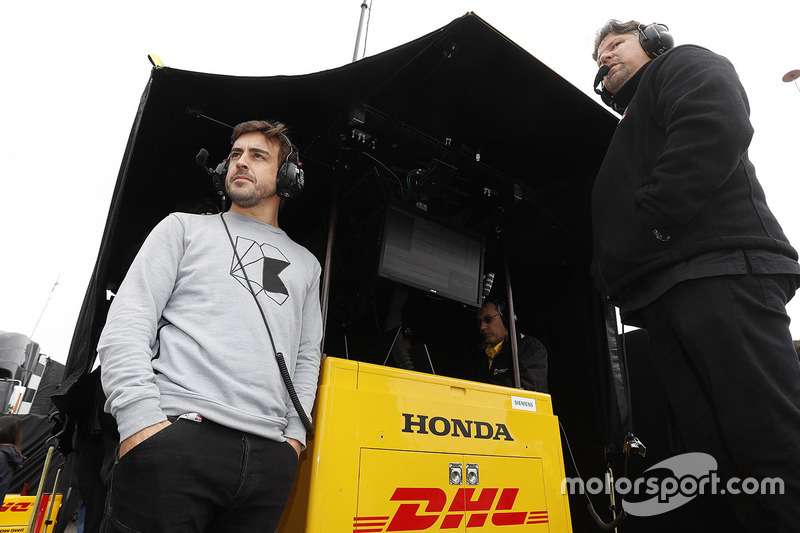 Fernando Alonso ve Michael Andretti