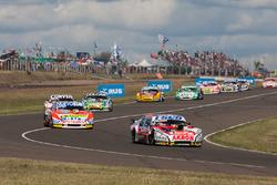 Guillermo Ortelli, JP Carrera Chevrolet, Jonatan Castellano, Castellano Power Team Dodge, Gaston Maz