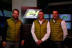 Peter Lauterbach, Wige, Walter Hornung, Race director, Mirco Hansen, ADAC Nordrhein Sport director