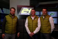 Peter Lauterbach, Wige; Walter Hornung, Rennleiter; Mirco Hansen, Sportdirektor ADAC Nordrhein