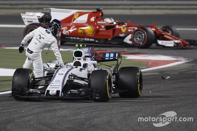 DNF Lance Stroll, Williams FW40
