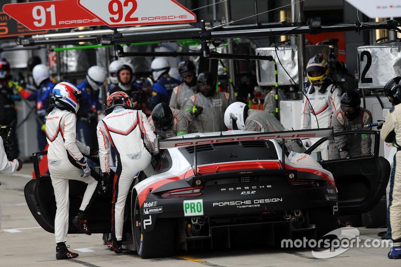 #92 Porsche Team Porsche 911 RSR: Michael Christensen, Kevin Estre