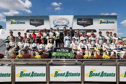 Tequila Patron North American Endurance Cup foto de grupo de contendientes