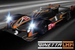 Ginetta LMP1 rendering