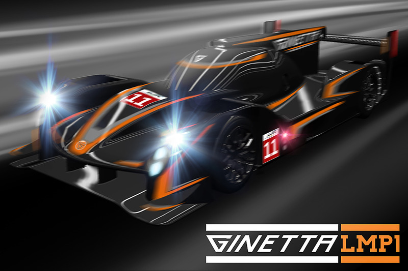 Ginetta LMP1 render