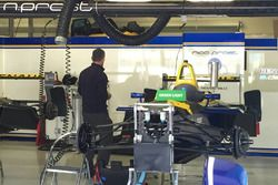 Garaje del equipo Renault e.Dams