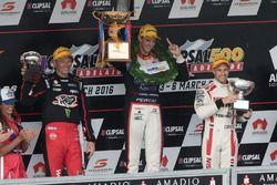 Podium: 1. Nick Percat, Lucas Dumbrell Motorsport Holden; 2. Michael Caruso, Nissan Motorsports; 3.
