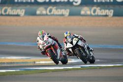 Nicky Hayden, Honda WSBK Team et Markus Reiterberger, Althea BMW Team