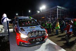 Хайден Пэддон и Джон Кеннард, Hyundai i20 WRC, Hyundai Motorsport