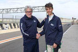 Frits Van Amersfoort en Moritz Mueller-Crepon, die wordt voorgesteld bij Van Amersfoort Racing