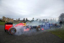 Daniel Ricciardo, Red Bull Racing contre une équipe de rugby