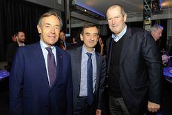 FIA Başkanı Endurance Commission Lindsay Owen-Jones, ACO başkanı Pierre Fillon