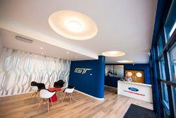 General presentation of Ford GT Chip Ganassi Racing headquarters