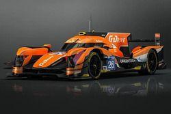 G-Drive Racing, la livrea