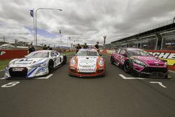 Audi R8 LMS, Porsche GT3 Cup, Ford Focus
