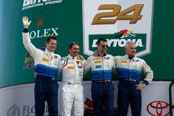 #28 Konrad Motorsport Lamborghini Huracan GT3: Rolf Ineichen, Lance Willsey, Franz Konrad, Fabio Bab