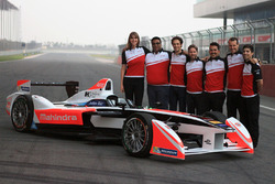 Teamfoto von Mahindra Racing
