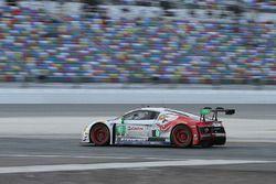 Эндрю Дэвис, Робин Лидделл, Лоусон Ашенбах и Мэтт Белл, #6 Stevenson Motorsports Audi R8 LMS GT3