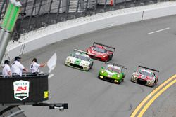 White flag for GTD competitors