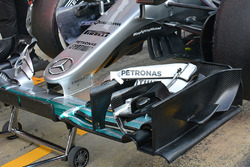 Detail Frontnase, Mercedes AMG F1 Team W07