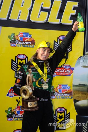 Top Fuel Sieger, Leah Pritchett