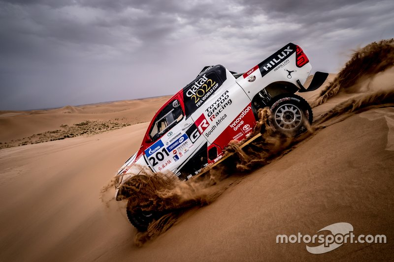 Nasser Al Attiyah, Mathieu Baumel, Toyota Gazoo Racing SA, Toyota Hilux